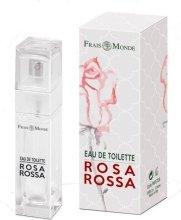Парфюмерия и Козметика Frais Monde Rosa Rossa - Тоалетна вода