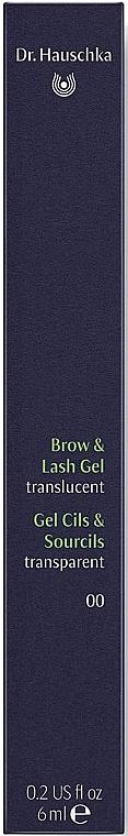 Прозрачен гел за вежди и мигли - Dr. Hauschka Brow and Lash Gel — снимка N3