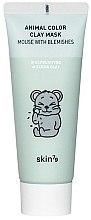 Парфюмерия и Козметика Почистваща глинена маска за лице - Skin79 Animal Color Clay Mask Mouse With Blemishes