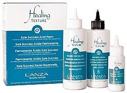Парфюмерия и Козметика Комплект за перманентно къдрене - L'anza Healing Texture Sure Success Acid Perm (neutralizer/118ml + lot/82ml + activator/21ml)
