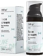 Парфюми, Парфюмерия, козметика Хидратиращ дневен крем за лице - Kili·g Man Day Cream
