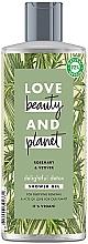 Парфюмерия и Козметика Детоксикиращ душ гел с розмарин и ветивер - Love Beauty&Planet Delightful Detox Rosemary & Vetiver Shower Gel