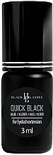 Парфюмерия и Козметика Лепило за изкуствени мигли - Black Lashes Quick Black Glue For Eyelash