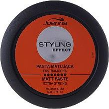 Парфюми, Парфюмерия, козметика Моделираща и матираща паста за коса - Joanna Styling Effect Extra Strong Matt Paste