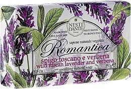 Парфюми, Парфюмерия, козметика Сапун с аромат на лавандула и върбинка - Nesti Dante Romantica