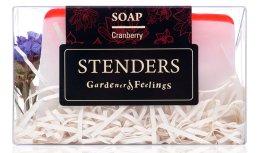 """Парфюмерия и Козметика Сапун """"Червена боровинка"""" - Stenders Cranberry Soap"""