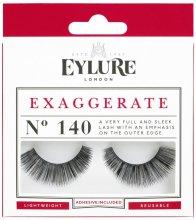 Изкуствени мигли №140 - Eylure Pre-Glued Exaggerate — снимка N1