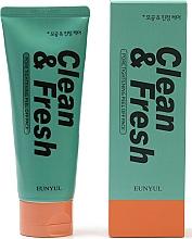 Парфюмерия и Козметика Почистваща пяна за лице за свиване на пори - Eunyul Clean & Fresh Pore Tightening Foam Cleanser
