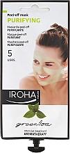 Маска за лице - Iroha Nature Green Tea Purifying Peel-Off Mask — снимка N1