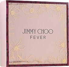Парфюмерия и Козметика Jimmy Choo Fever - Комплект (edp/100ml + b/lot/100ml + edp/7.5ml)