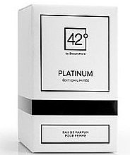 42° by Beauty More Platinum Edition Limitee Pour Femme - Парфюмна вода — снимка N1