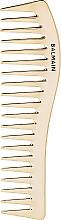 Професионален позлатен гребен за коса 14k - Balmain Paris Hair Couture Golden Styling Comb — снимка N1