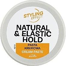 Парфюмерия и Козметика Кремообразна паста за коса - Joanna Styling Effect Natural & Elactic Hold Cream Paste