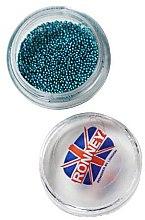 Парфюми, Парфюмерия, козметика Декориращи топчета за нокти, 00379, тюркоаз - Ronney Professional Decoration For Nails