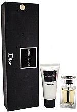 Парфюми, Парфюмерия, козметика Christian Dior Dior Homme - Комплект (edt/10ml + sh/gel/20ml)