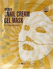 Парфюми, Парфюмерия, козметика Хидрогелна маска за лице с екстракт от охлюв - The Orchid Skin Snail Cream Gel Mask