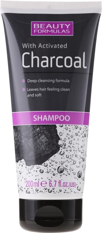 Шампоан с активен въглен - Beauty Formulas Charcoal Shampoo