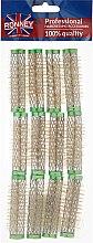 Парфюми, Парфюмерия, козметика Ролки за коса 15/63 мм, зелени - Ronney Wire Curlers