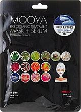Парфюми, Парфюмерия, козметика Маска + серум за лице с екстракт от акула - Beauty Face Mooya Bio Organic Treatment Mask + Serum