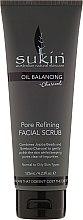 Парфюмерия и Козметика Скраб за лице - Sukin Oil Balancing Plus Charcoal Pore Refining Facial Scrub