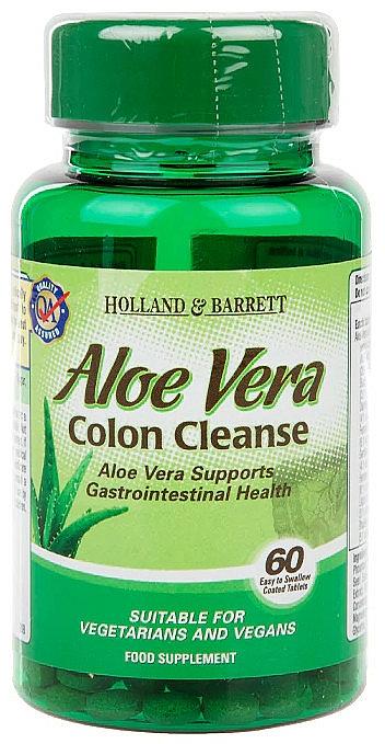 """Хранителна добавка """"Алое вера"""" на таблетки - Holland & Barrett Aloe Vera Colon Cleanse"""