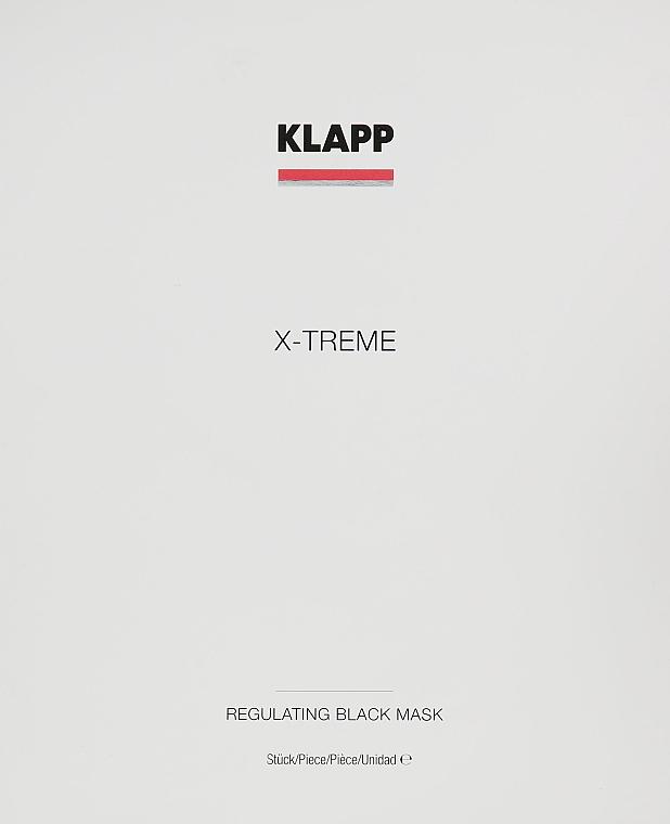 Комплект - Klapp X-Treme Regulating Black Mask (маска/5x25ml) — снимка N1