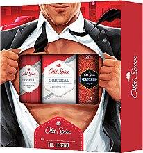 Парфюми, Парфюмерия, козметика Комплект - Old Spice Original Secret Agent (део/150ml + тоал. вода/100ml + душ гел/50ml)