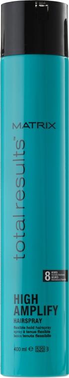 Спрей за оформяне на коса - Matrix Total Results High Amplify Hairspray