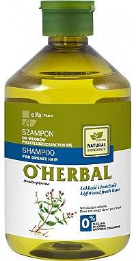 """Шампоан за мазна коса """"Свежест и лекота"""" - O'Herbal — снимка N3"""