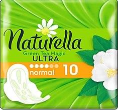 Парфюми, Парфюмерия, козметика Дамски превръзки, 10 бр. - Naturella Green Tea Magic