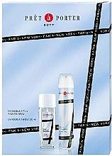 Парфюми, Парфюмерия, козметика Coty Pret-a-Porter - Комплект (део спрей/75ml+део/200ml)
