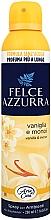 Парфюмерия и Козметика Освежител за въздух - Felce Azzurra Vaniglia e Monoi Spray