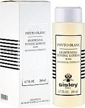 Парфюмерия и Козметика Лосион-тоник с избелващ ефект - Sisley Phyto-Blanc Lightening Toning Lotion