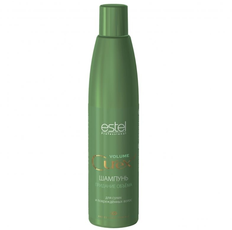 Шампоан за обем - Estel Professional Curex Volume Shampoo for Dry and Damaged Hair — снимка N1