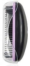 Парфюми, Парфюмерия, козметика Четка за коса 1245, черна и лилава - Donegal Hair Brush