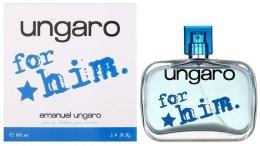 Парфюмерия и Козметика Ungaro Ungaro for Him - Тоалетна вода