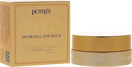 Хидрогелни пачове за очи със златен комплекс +5 - Petitfee&Koelf Gold Hydrogel Eye Patch — снимка N1