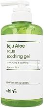Парфюмерия и Козметика Успокояващ гел за лице, тяло и коса - Skin79 Jeju Aloe Aqua Soothing Gel