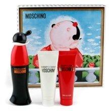 Парфюми, Парфюмерия, козметика Moschino Cheap and Chic - Комплект (edt 50 + sh/g 50 + b/l 50)