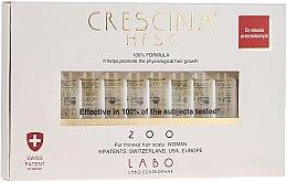 Парфюмерия и Козметика Лосион -концентрат за възстановяване на растежа на косатапри жените - Labo Crescina HFSC Re-Growth 200