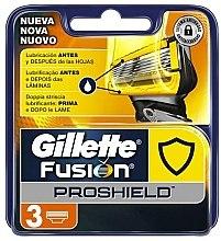 Парфюмерия и Козметика Сменяеми ножчета за бръснене, 3 бр. - Gillette Fusion ProShield