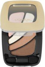 Парфюми, Парфюмерия, козметика Сенки - L'Oreal Paris Colour Riche Quads Eye Shadow