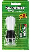 Парфюми, Парфюмерия, козметика Комплект за бръснене - Super-Max Kwik Shaving Brush + 5 Blades