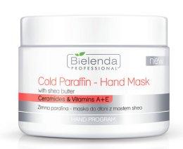 Парфюмерия и Козметика Студена парафинова маска за ръце с екстракт от шеа масло - Bielenda Professional Cold Paraffin Hand Mask With Shea Butter (400 g)