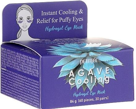 Хидрогелни хидратиращи пачове за очи с екстракт от столетник - Petitfee&Koelf Agave Cooling Hydrogel Eye Mask — снимка N1