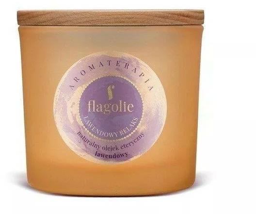 "Ароматна свещ в чаша ""Лавандула"" - Flagolie Fragranced Candle Lavender Relax — снимка N1"