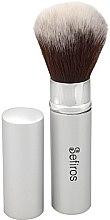 Парфюми, Парфюмерия, козметика Четка за пудра - Sefiros Silver Retractable Brush