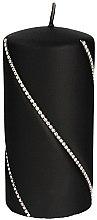 Парфюми, Парфюмерия, козметика Декоративна свещ, черна, 14х7см - Artman Bolero Mat