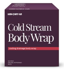 Парфюми, Парфюмерия, козметика Охлаждаща обвивка за тяло за лимфен дренаж - Natura Siberica Fresh Spa Kam-Chat-Ka Cold Stream Body Wrap