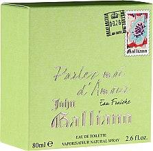 Парфюмерия и Козметика John Galliano Parlez-Moi d'Amour Eau Fraiche - Тоалетна вода